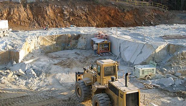 Virginia Soapstone Quarry